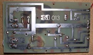 Le filtre d'origine côté cuivre.