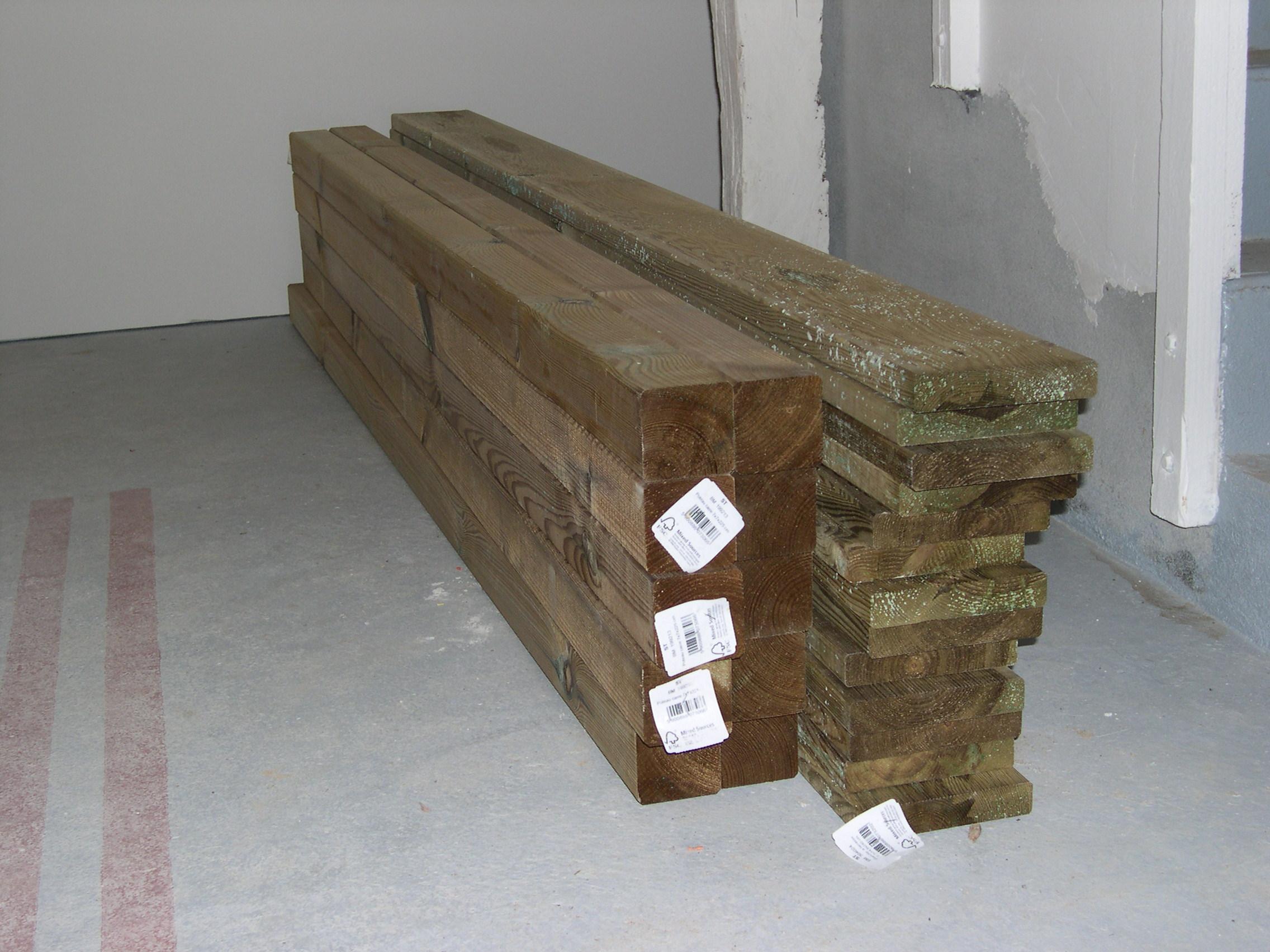 Construction d\'une table pique-nique | Asv850