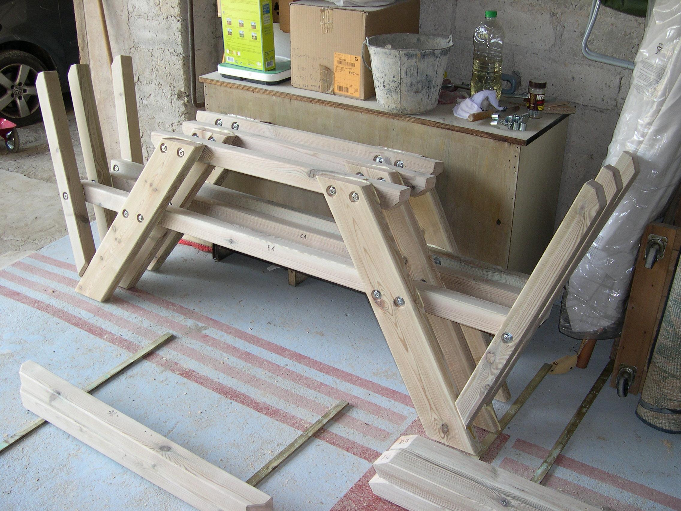 plan pour fabriquer une table de jardin en bois - fashion designs - Plan Pour Fabriquer Une Table De Jardin En Bois